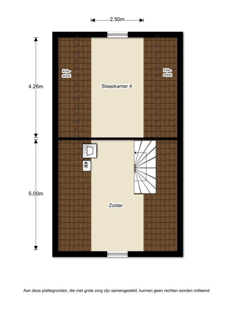 Hofstedestraat 57 – Almere – Plattegrond 3