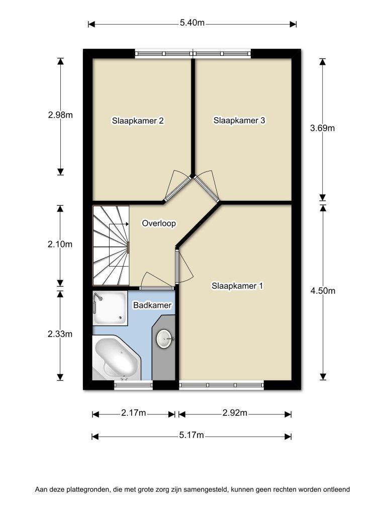 Hildebrandstraat 35 – Almere – Plattegrond 2