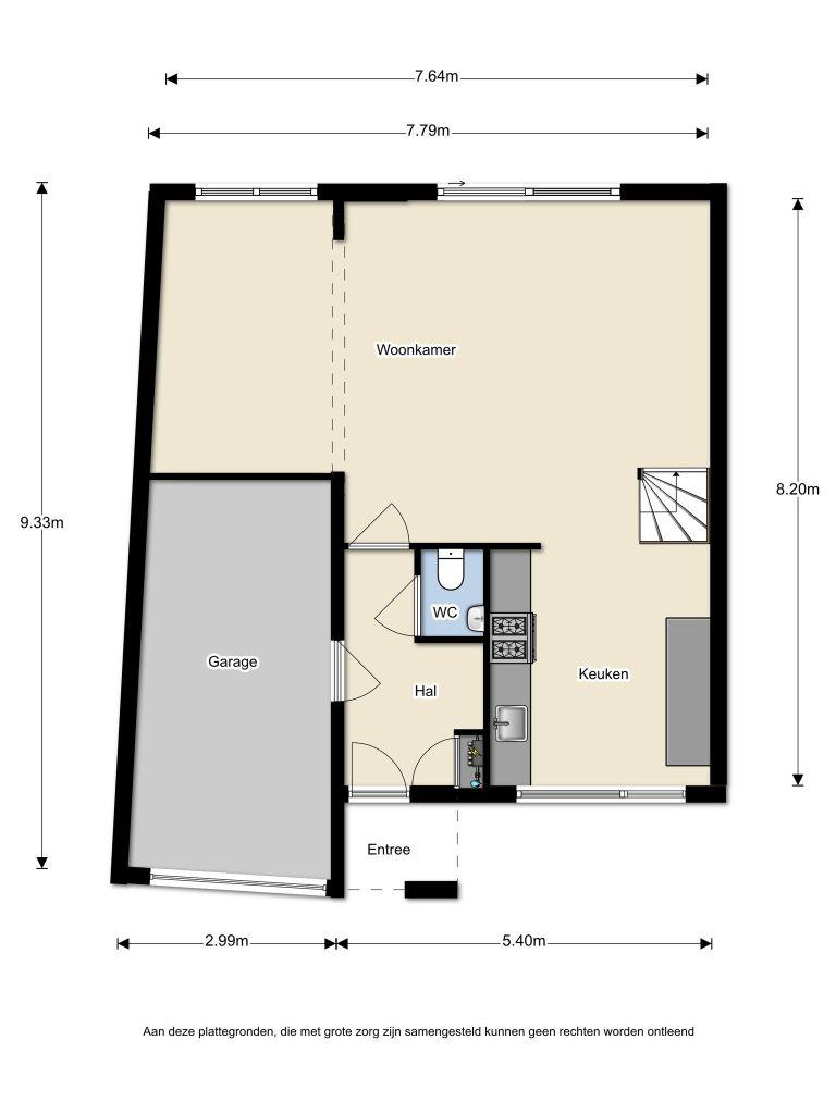 Capricciostraat 24 – Almere – Plattegrond