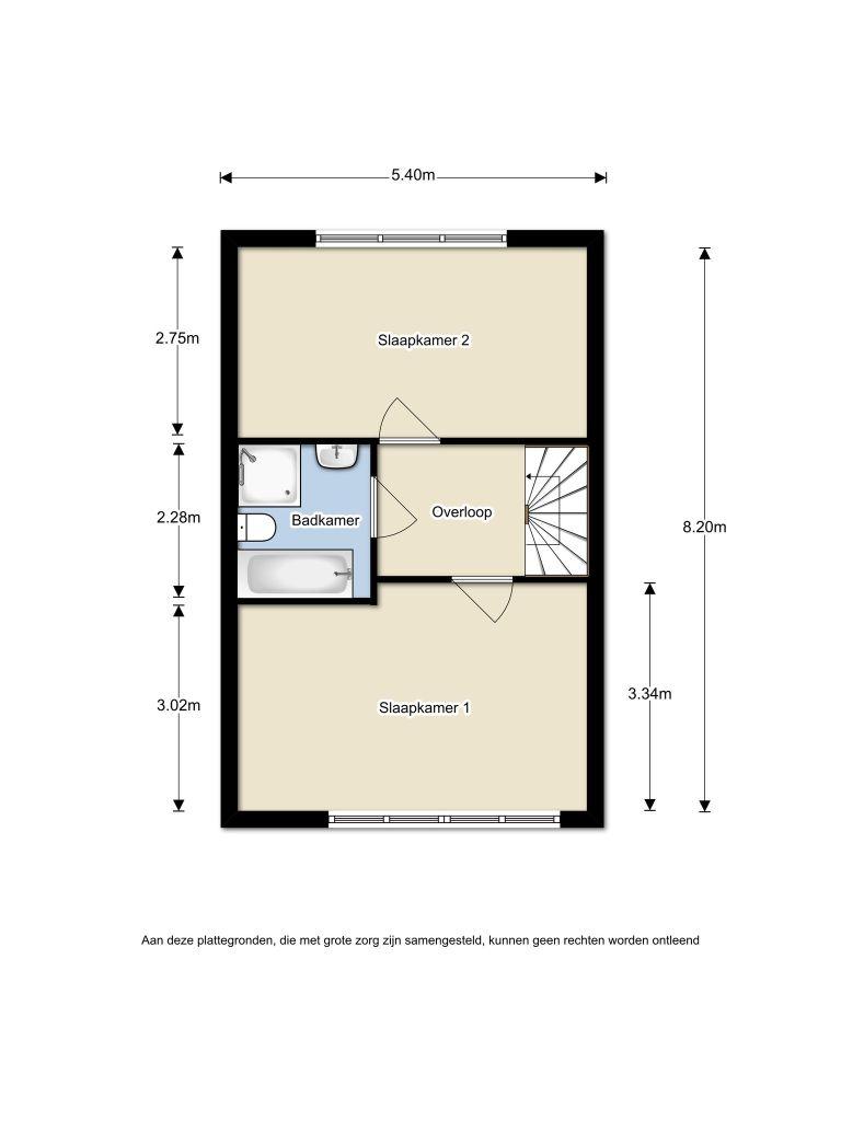 Capricciostraat 24 – Almere – Plattegrond 2