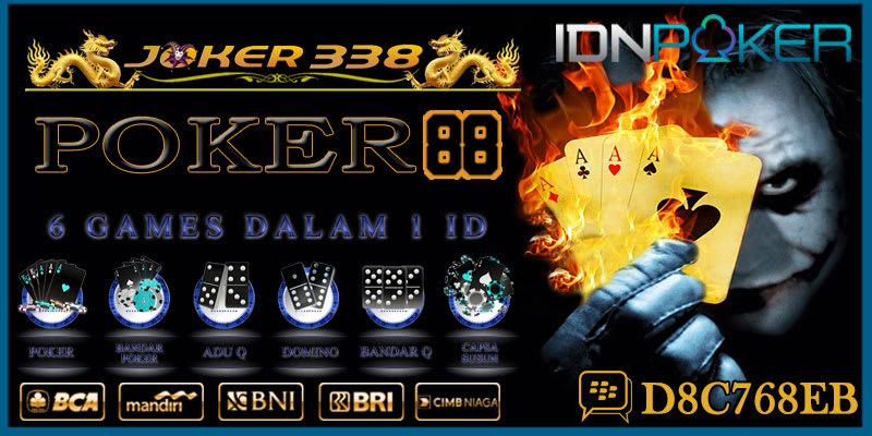 DAFTAR IDN POKER88 ASIA