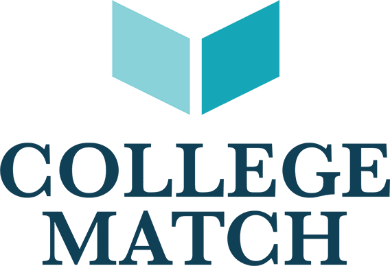Colleg Match Logo depicting a book and wings.