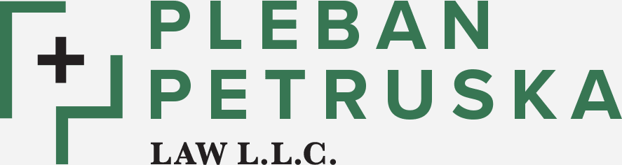 Pleban and Petruska Law Firm logo in full color