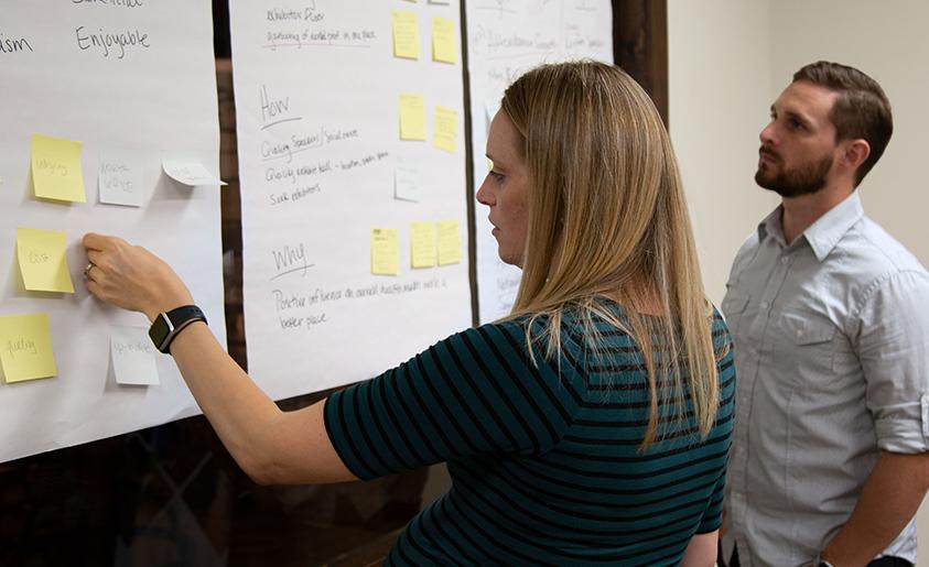 brand brainstorm session