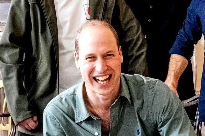 Принц Уильям возглавил рейтинг самых желанных лысых мужчин