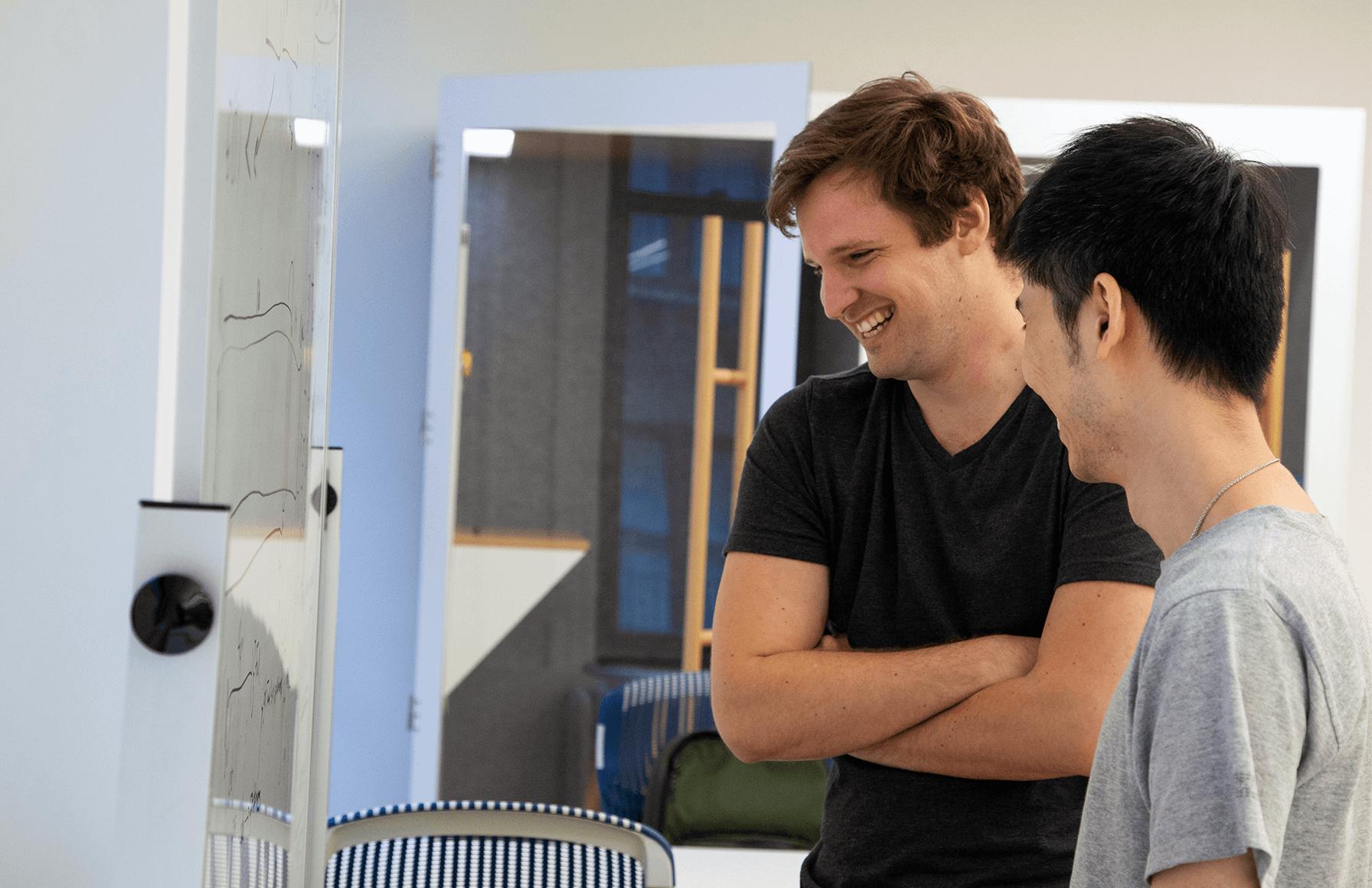 Greg Svigruha, Orchard Staff Software Engineer, and Raymond Liang, Orchard Data Scientist