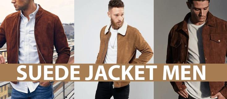 Suede Jacket men