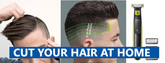 CUT YOUR HAIR AT HOME