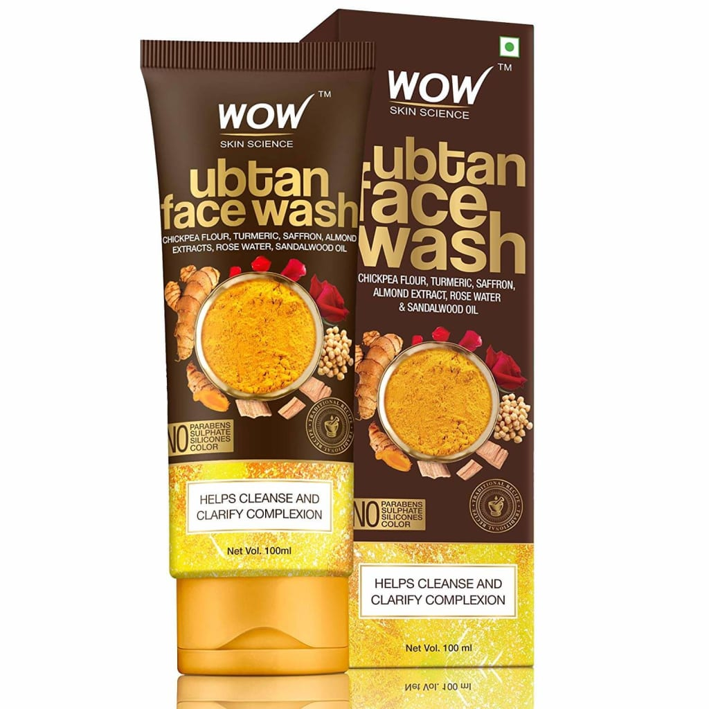 WOW UBTAN FACE WASH FOR MEN | wow facewash for men | wow facewash 2020 | face wash under rs 200