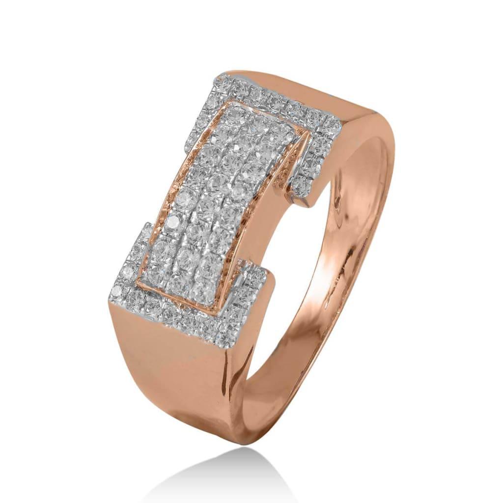 Rose Gold Ring For Men   Rose Gold ring for men 2021   rose gold ring design for men   gents gold ring with diamond   plain gold ring for men