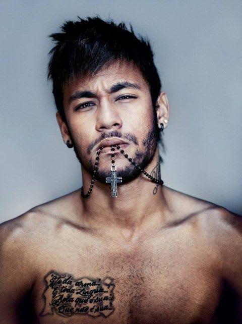 Messy Spiky Haircut   Neymar Haircut For Men