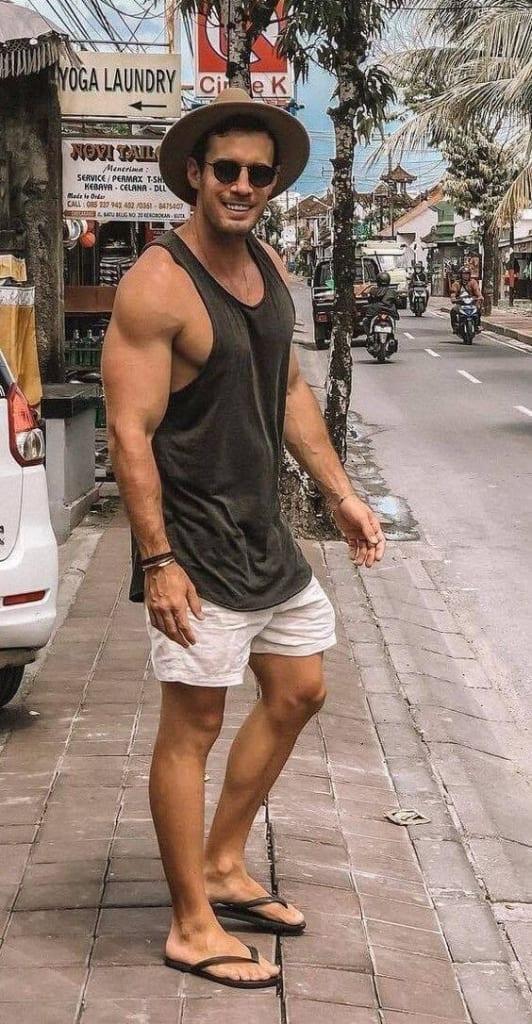 Vest Beach Outfit for men | beach outfit for men
