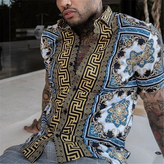 FANCY PRINTED SHIRTS FOR MEN