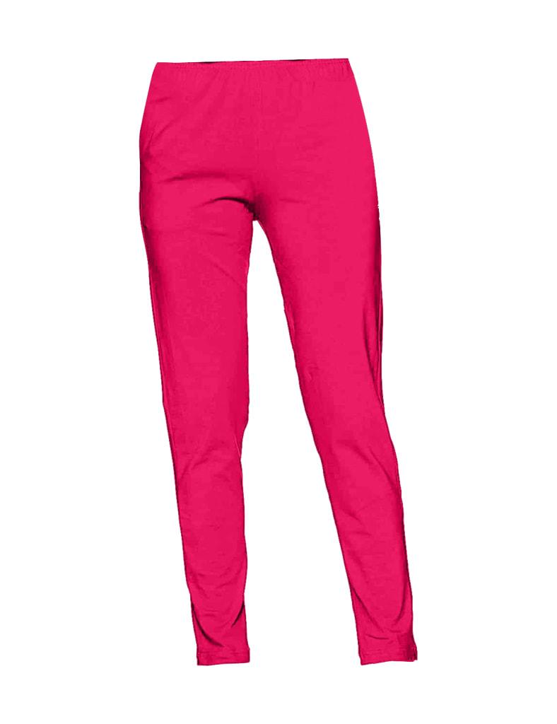 Pink Women Straight Pants For Kurtis