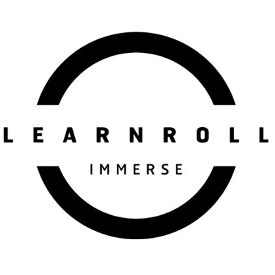 LEARNROLL Immerse logo