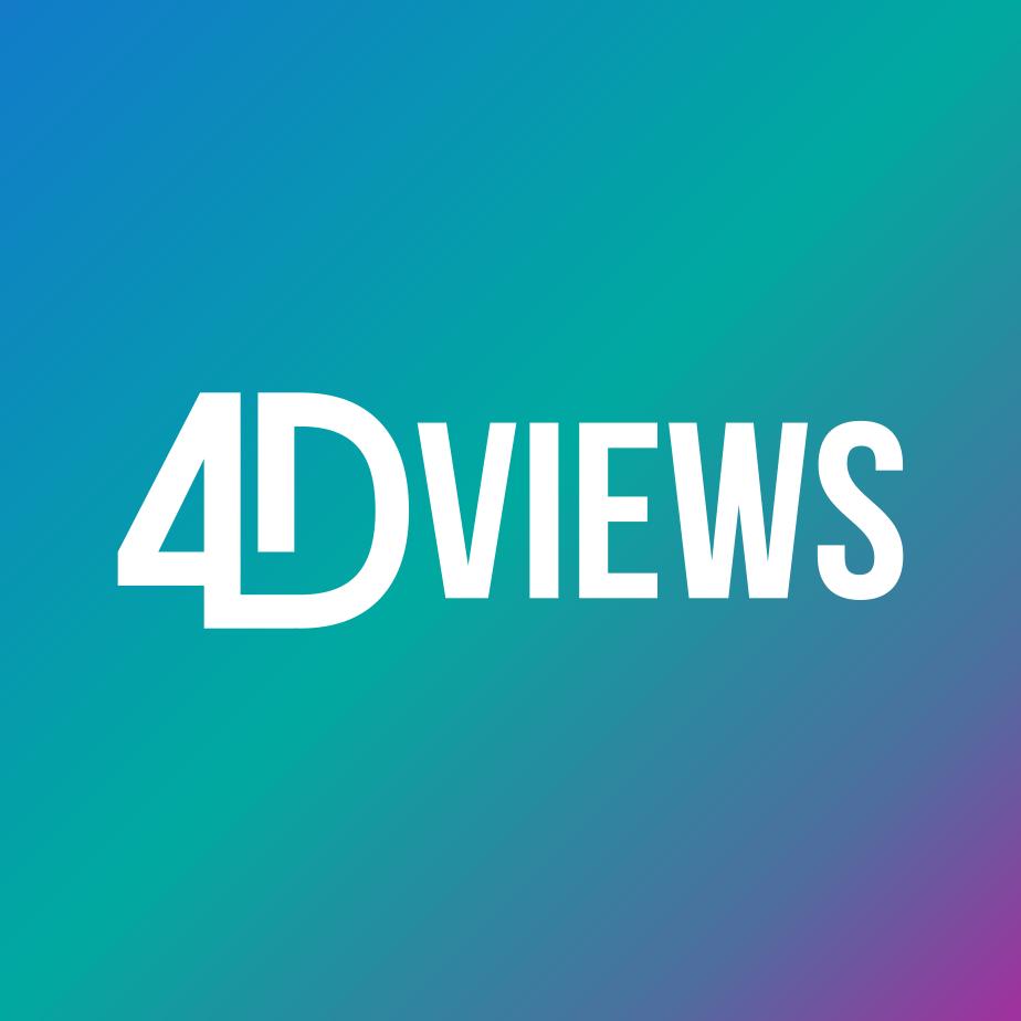 4DViews logo