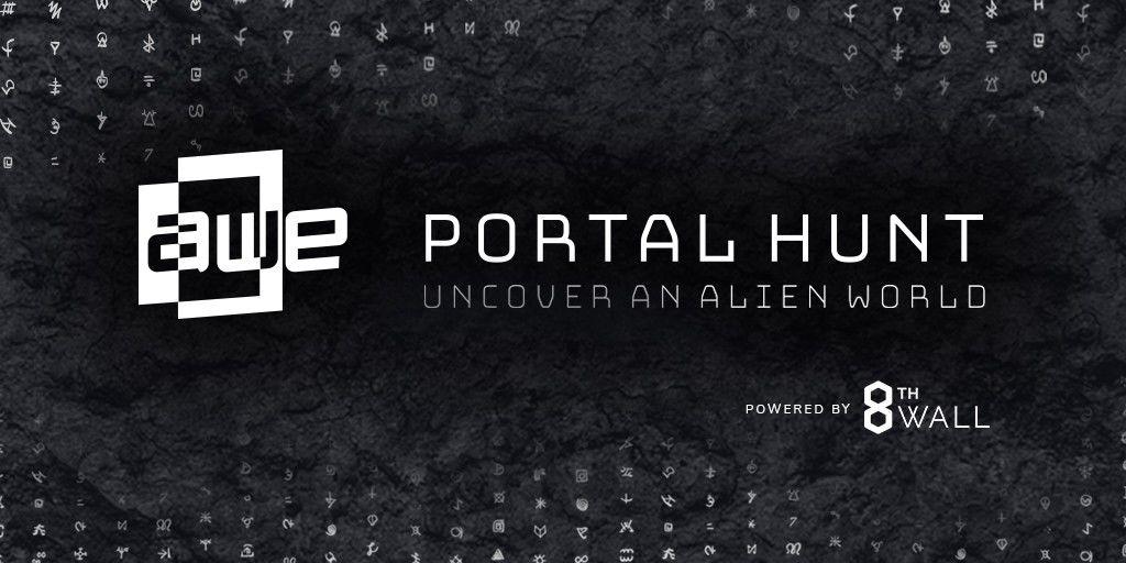 AWE 2019 + Portal Hunt Web AR Experience