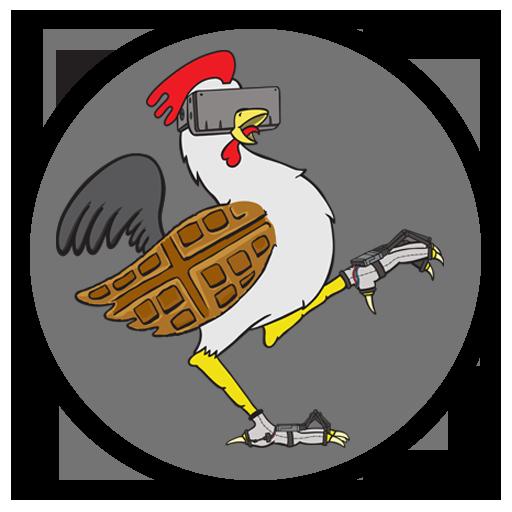 Chicken Waffle logo