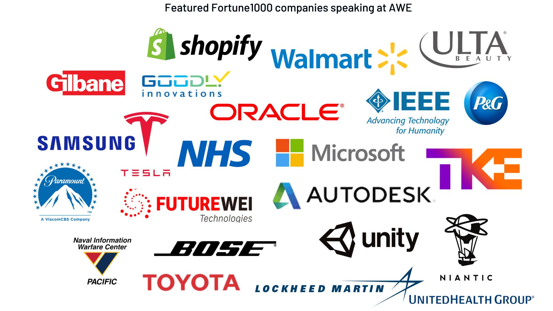 Speaker companies at AWE