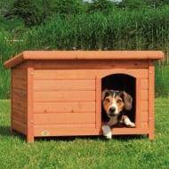 Trixie drvena kućica za pse s ravnim krovom, M