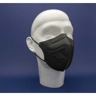 MPG Healthcare Otroška maska FFP2 črna/turkizna - 10 k.