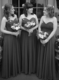 Vicky's Bridesmaids Grayscale Picture