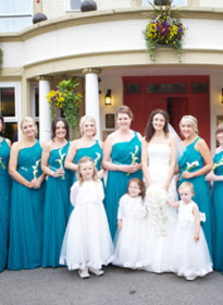 Jo's 10 Bridesmaids Picture