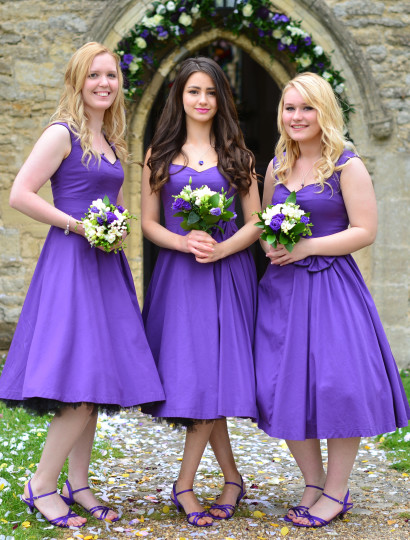 Tiffany'sBridesmaids Picture