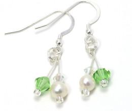 Bridesmaid Jewellery Peridot Earrings
