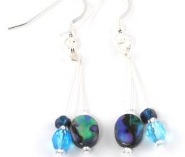 Fashion Jewellery Abalone Dainty Earrings