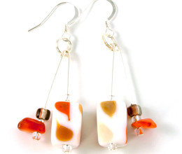 Fashion Jewellery Pumpkin Earrings