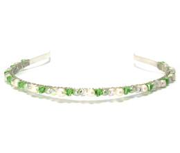 Bridesmaid Jewellery Peridot Headband