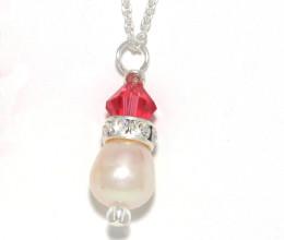 Bridesmaid Jewellery Cherry Pendant Necklace