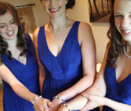 Bridesmaid Jewellery Montana Blue Bracelet