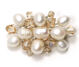 Wedding Jewellery Forever Oval Brooch