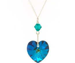 Fashion Jewellery Bermuda Heart Necklace