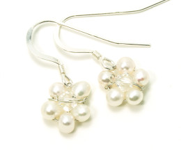 Wedding Jewellery Daisy Earrings
