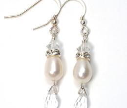 Wedding Jewellery Allure Drop Earrings