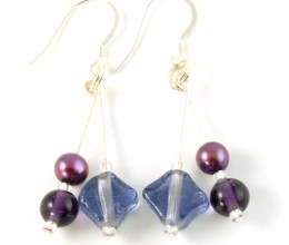 Fashion Jewellery Mulled Wine Earrings