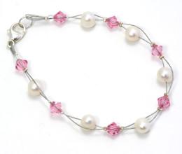 Bridesmaid Jewellery Petal Bracelet