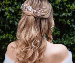 Hair Accessories Cherry Blossom Garland