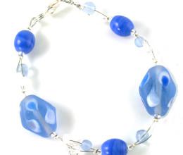 Fashion Jewellery Cornflower Bracelet