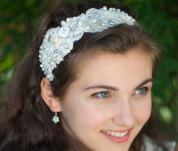 Bridal Accessories Clara Ribbon Tie