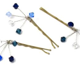 Bridesmaid Jewellery Truly Blue Grip