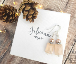 Fashion Jewellery Sweet Peaches Earrings