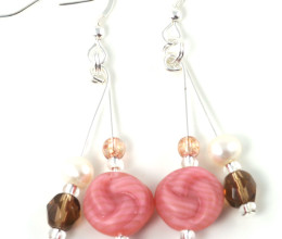 Fashion Jewellery Honeysuckle Earrings