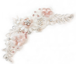 Hair Accessories Emily Blush Floral Headpiece
