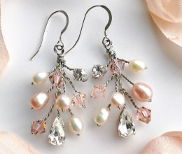 Wedding Jewellery Rebecca Earrings