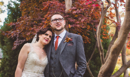 Stunning Autumn Wedding in Shrewsbury
