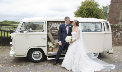 Beautiful Shropshire Village Church Wedding